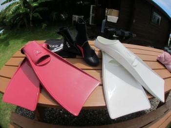 カイルフィンとカイルブーツ