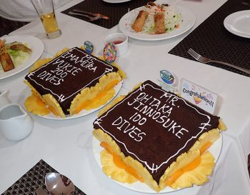 記念ケーキ