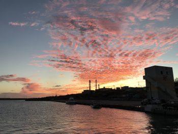 綺麗な夕焼け雲